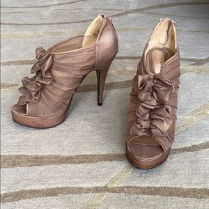 Chinese Laundry Bow Sheer Heels